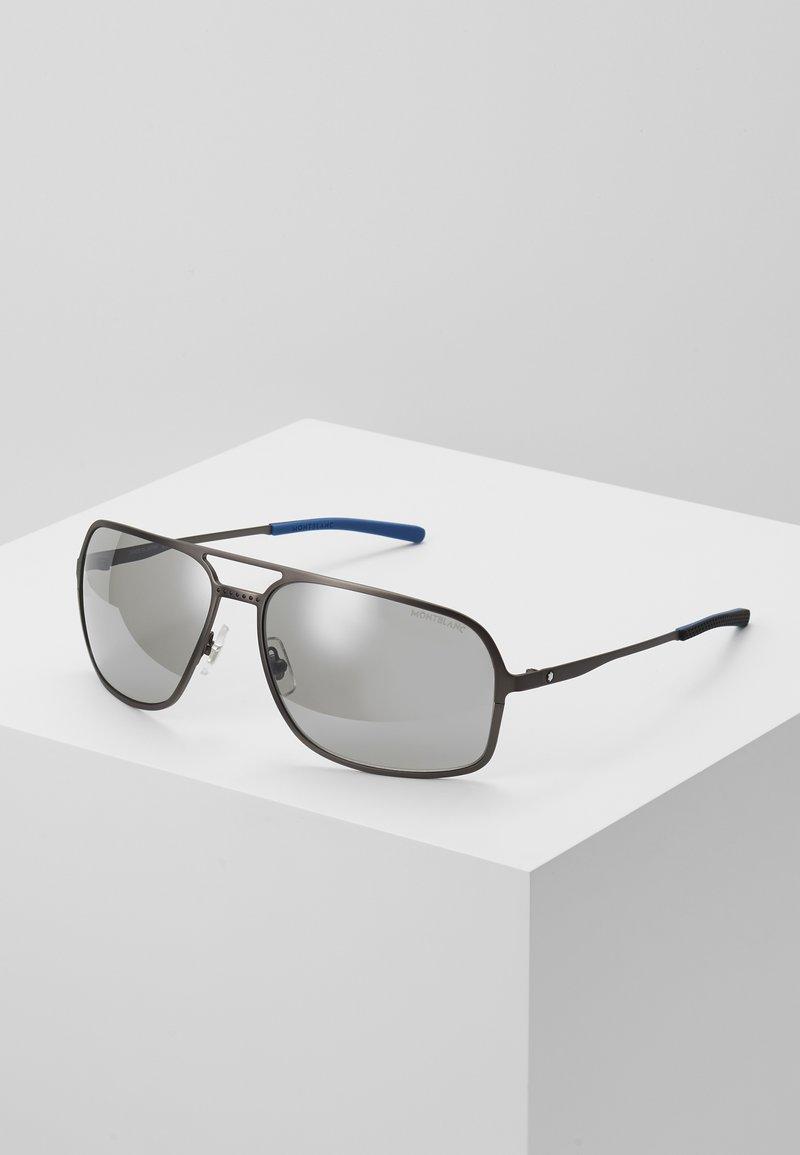 Mont Blanc - Sluneční brýle - ruthenium/silver