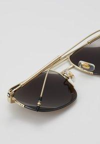 Mont Blanc - Sluneční brýle - gold/gold/brown - 2