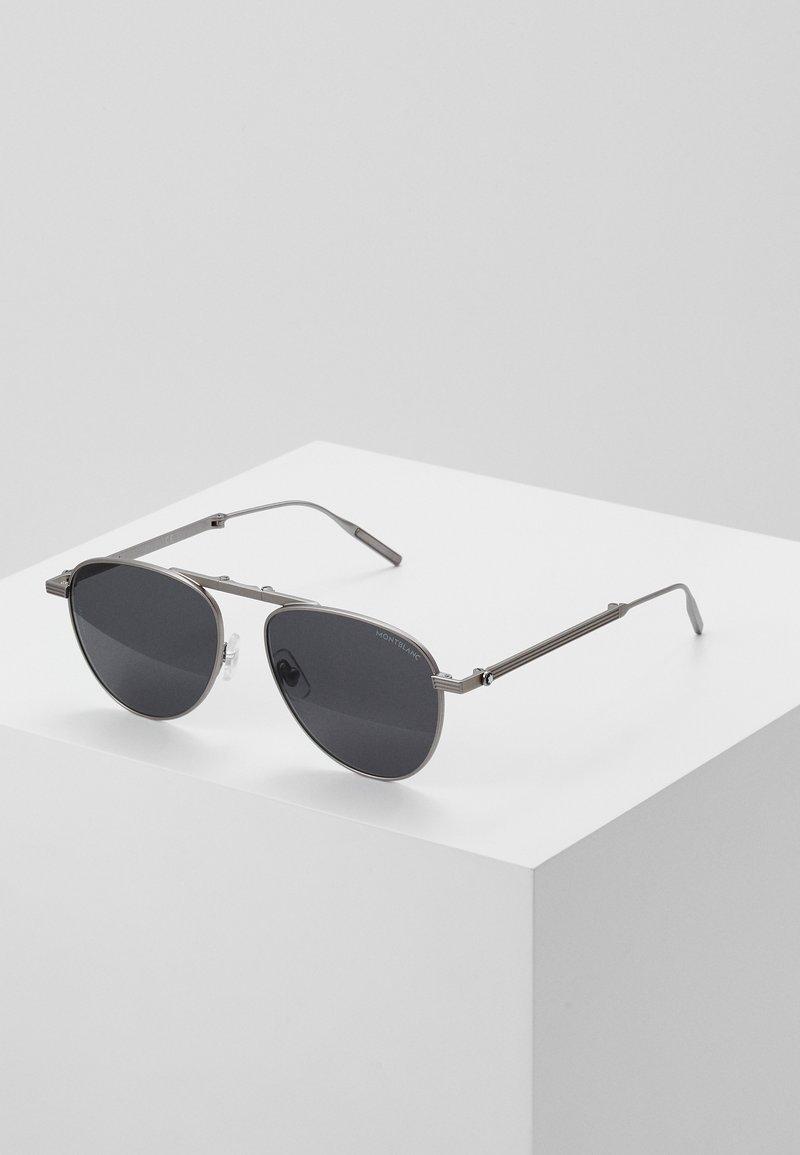 Mont Blanc - Sluneční brýle - ruthenium/grey