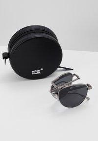 Mont Blanc - Sluneční brýle - ruthenium/grey - 3