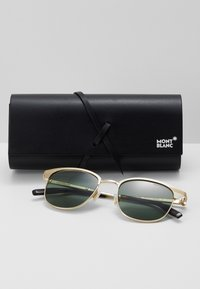 Mont Blanc - Sonnenbrille - gold-coloured/green - 3