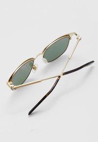 Mont Blanc - Sluneční brýle - gold-coloured/green - 2