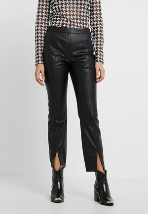 ONE LAST TIME PANT - Trousers - black