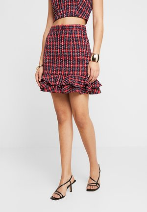 THE REGAL - A-line skirt - red
