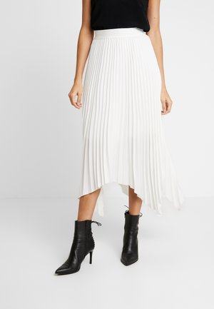 THE LADY LIKE SKIRT - Plisséskjørt - white