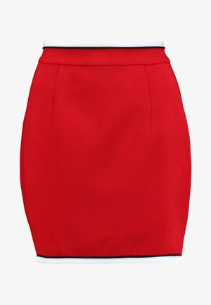 HIGH ROLLER SKIRT - Kokerrok - crimson