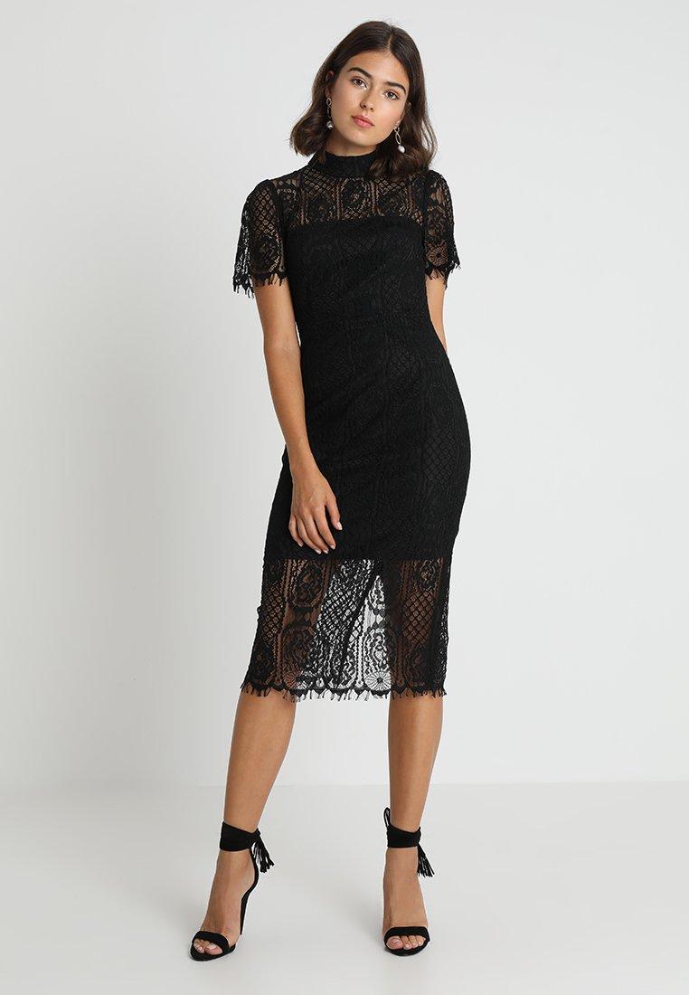 Mossman - MAKING THE CONNECTION DRESS - Sukienka koktajlowa - black