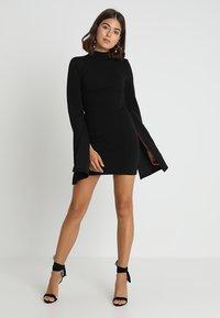 Mossman - THE SENSE OF MYSTERY DRESS - Cocktailkleid/festliches Kleid - black - 1