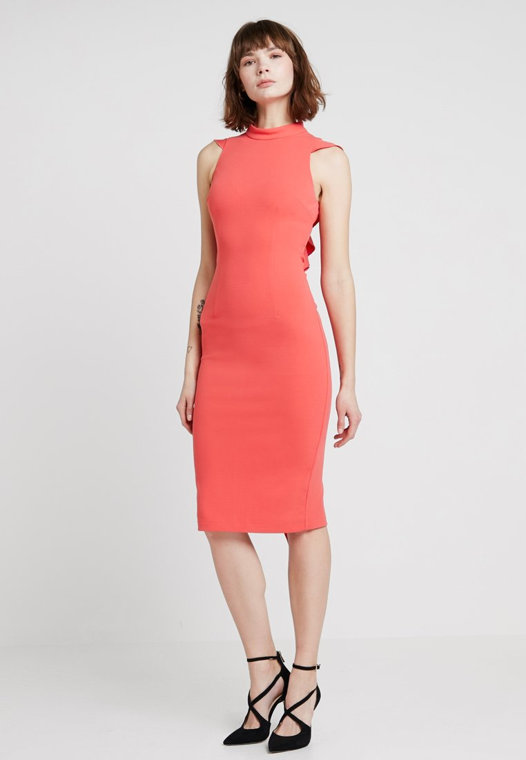 Mossman - BACK IT UP DRESS - Sukienka koktajlowa - coral