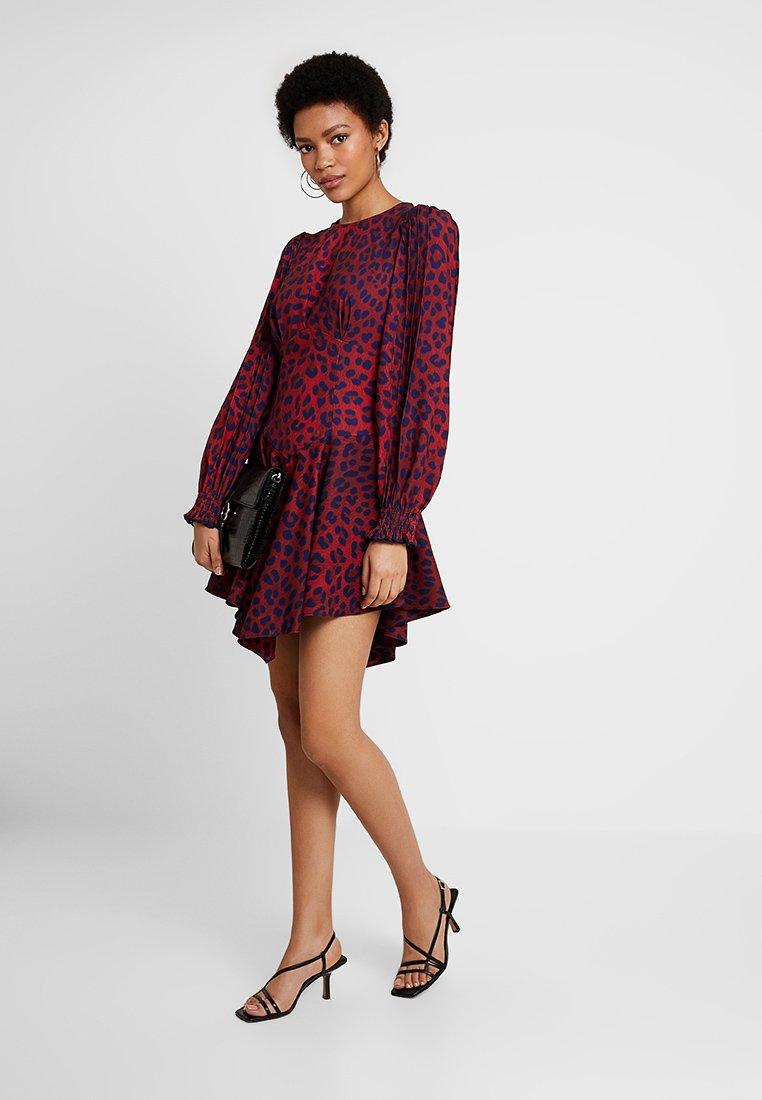 Mossman - STRIKE AGAIN DRESS - Robe d'été - red