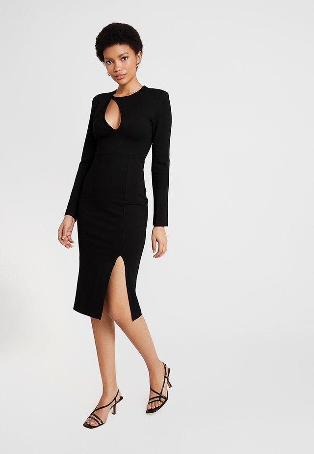 THE CUTAWAY DRESS - Kotelomekko - black