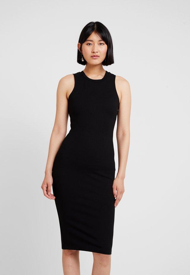 THE LODGE DRESS - Korte jurk - black