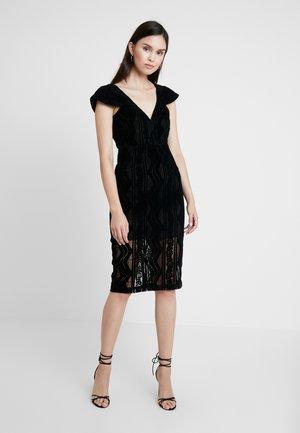 READ MY MIND DRESS - Sukienka koktajlowa - black