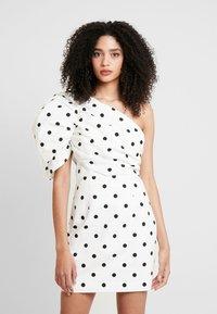Mossman - THE RIVIERA MINI DRESS - Vestido informal - off-white - 0