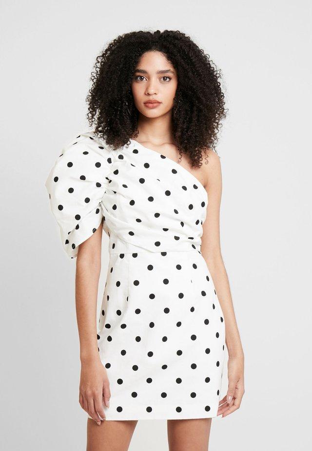 THE RIVIERA MINI DRESS - Vestido informal - off-white