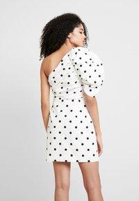 Mossman - THE RIVIERA MINI DRESS - Vestido informal - off-white - 3