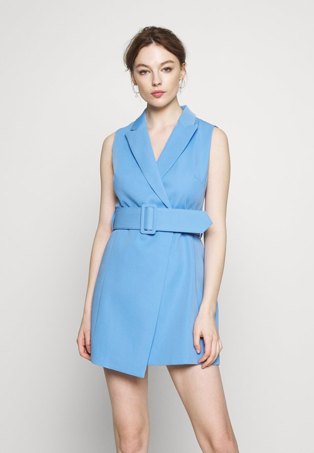 MAKE A MOVE MINI DRESS - Kjole - blue