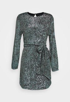 NIGHT FEVER TIE DRESS - Vestito elegante - blue