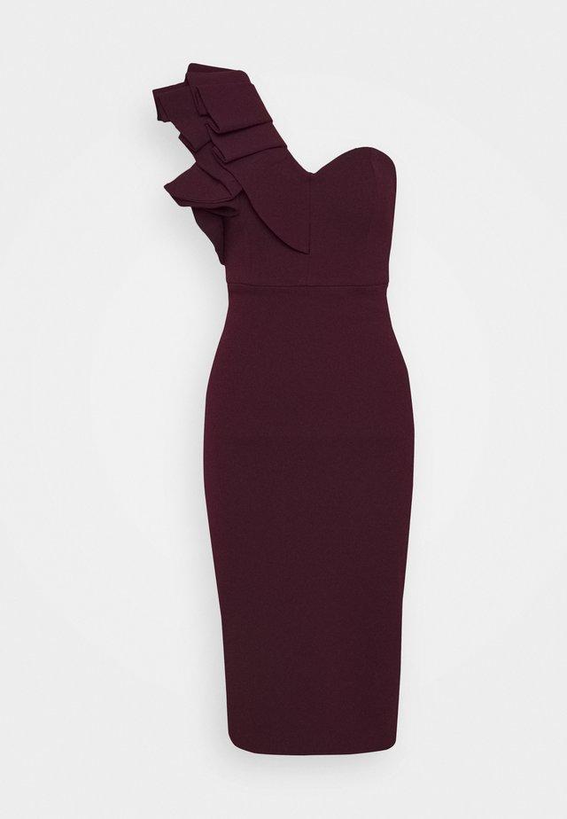 FOREVER MINE DRESS - Vestito elegante - wine