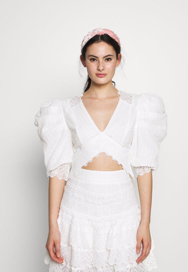 HAVANA NIGHTS - Bluser - white