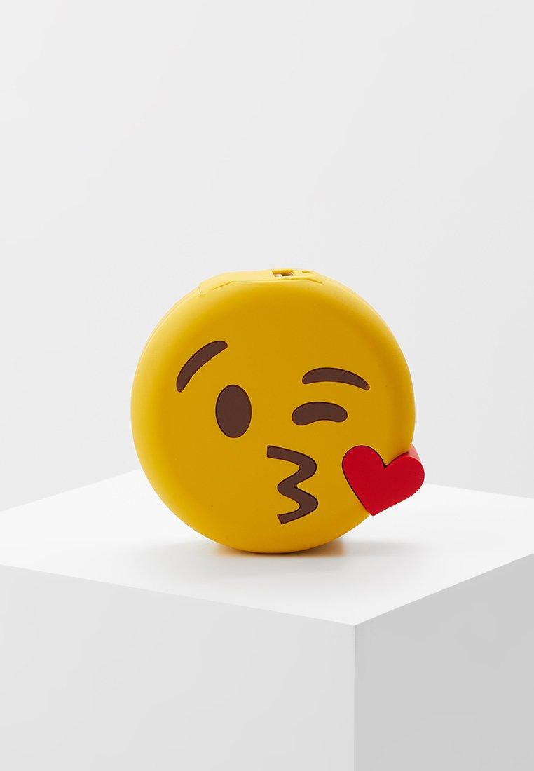 mojipower - KISSING WINKEXTERNAL BATTERY - Power bank - yellow