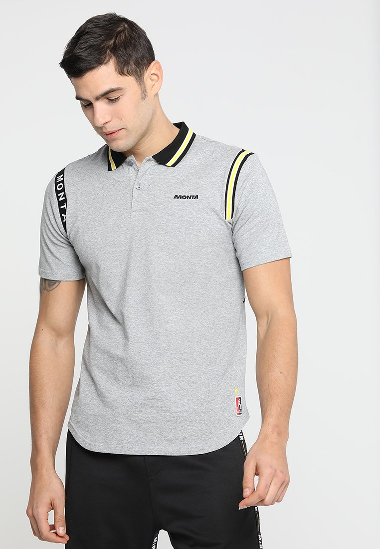Monta Juniors - RAINER - Polo shirt - grey melee