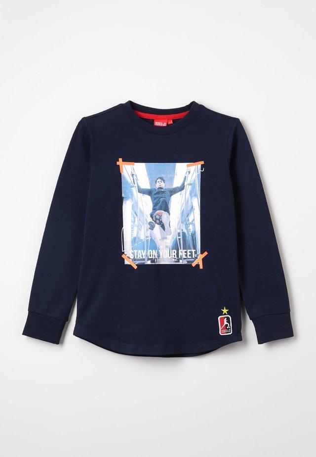 TOLOSA - T-shirt à manches longues - matte navy