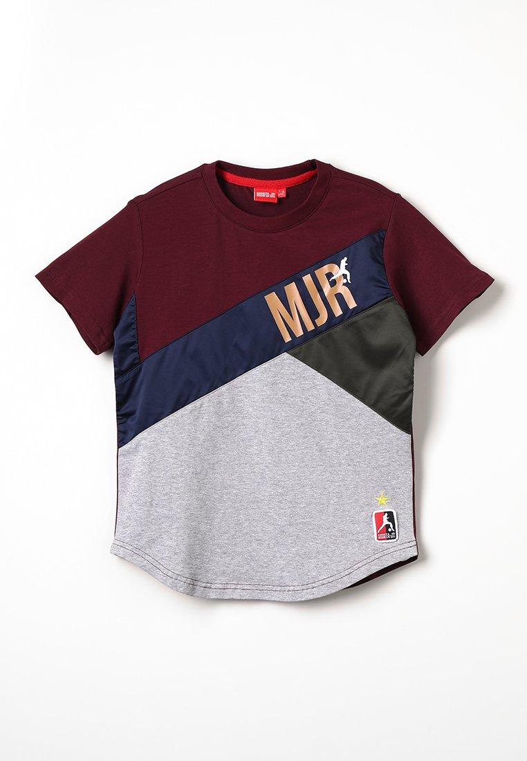 Monta Juniors - TAILLON - Print T-shirt - burgundy