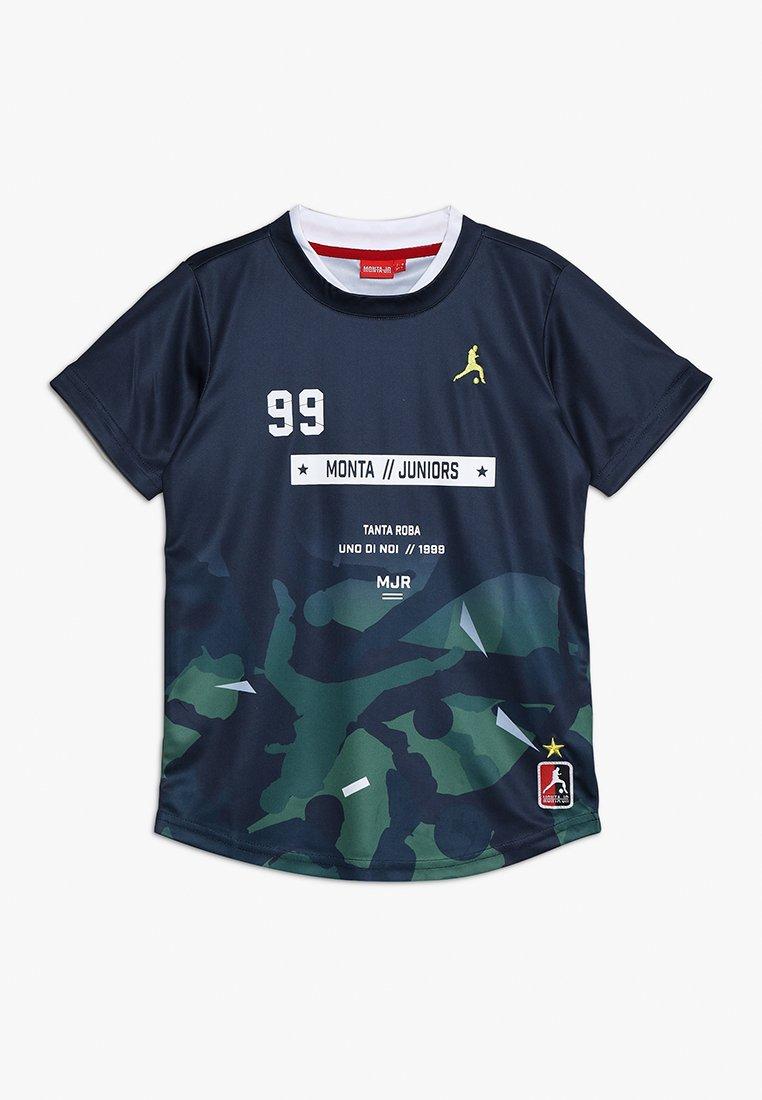 Monta Juniors - TOSHIO - Print T-shirt - matte navy
