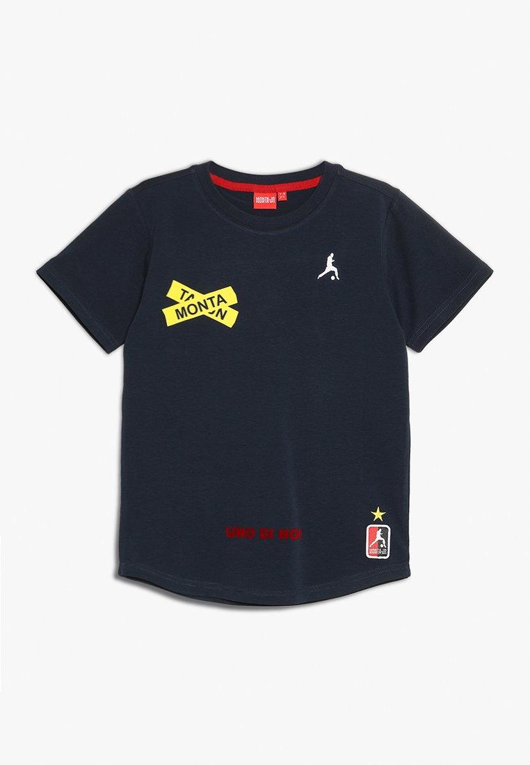 Monta Juniors - TAKOA - Print T-shirt - navy