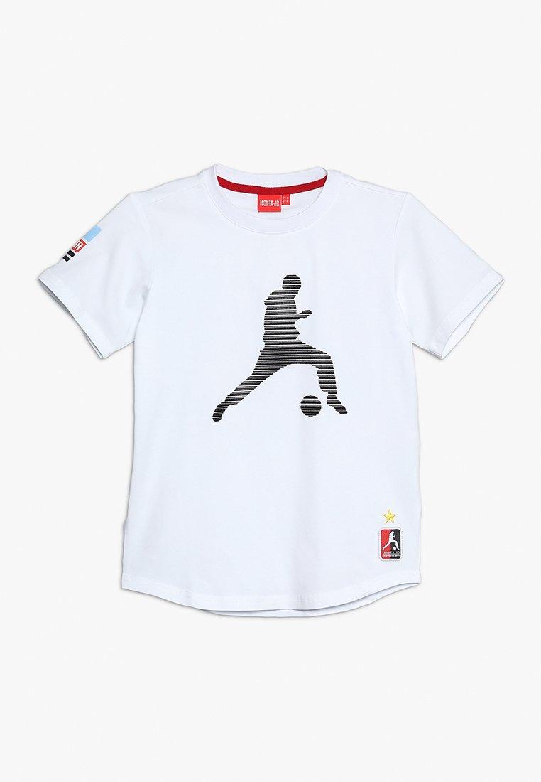 Monta Juniors - TROY - T-shirts print - white