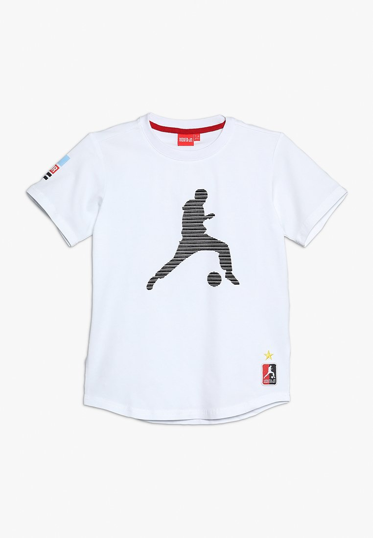 Monta Juniors - TROY - Print T-shirt - white