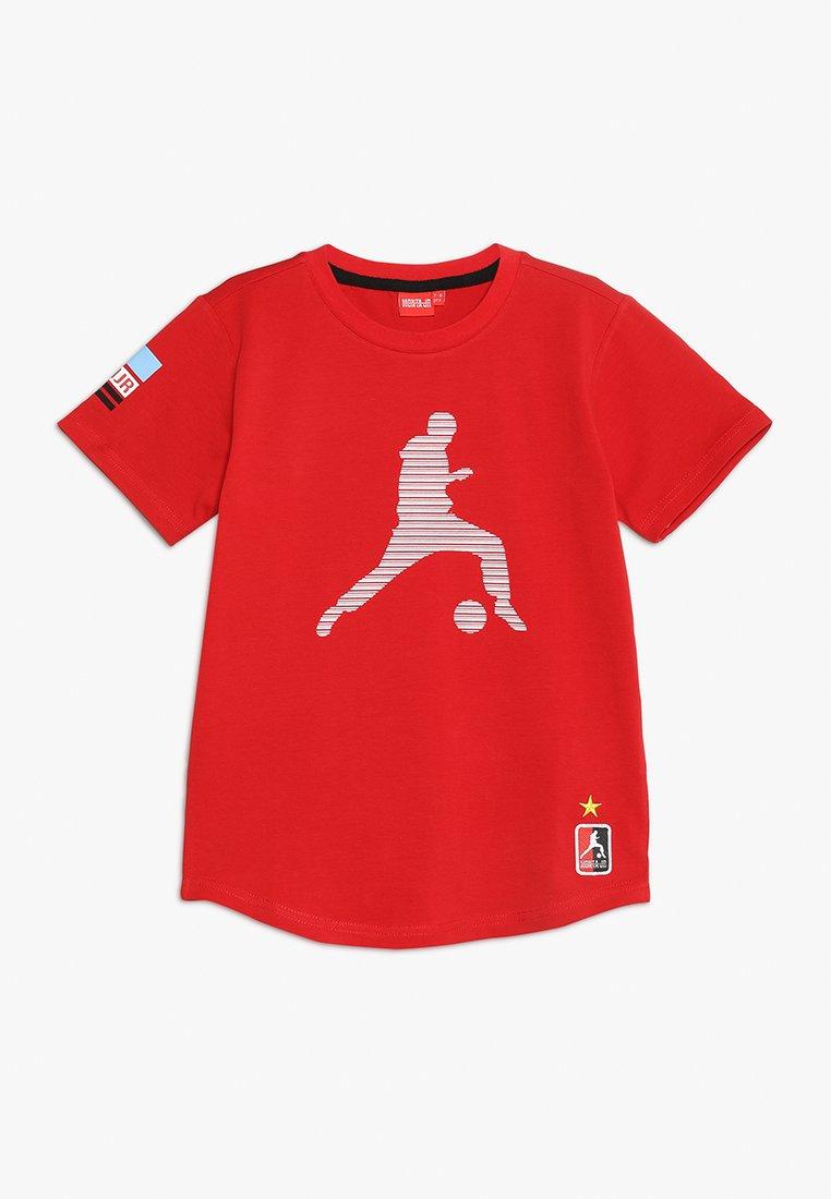 Monta Juniors - TROY - Print T-shirt - red
