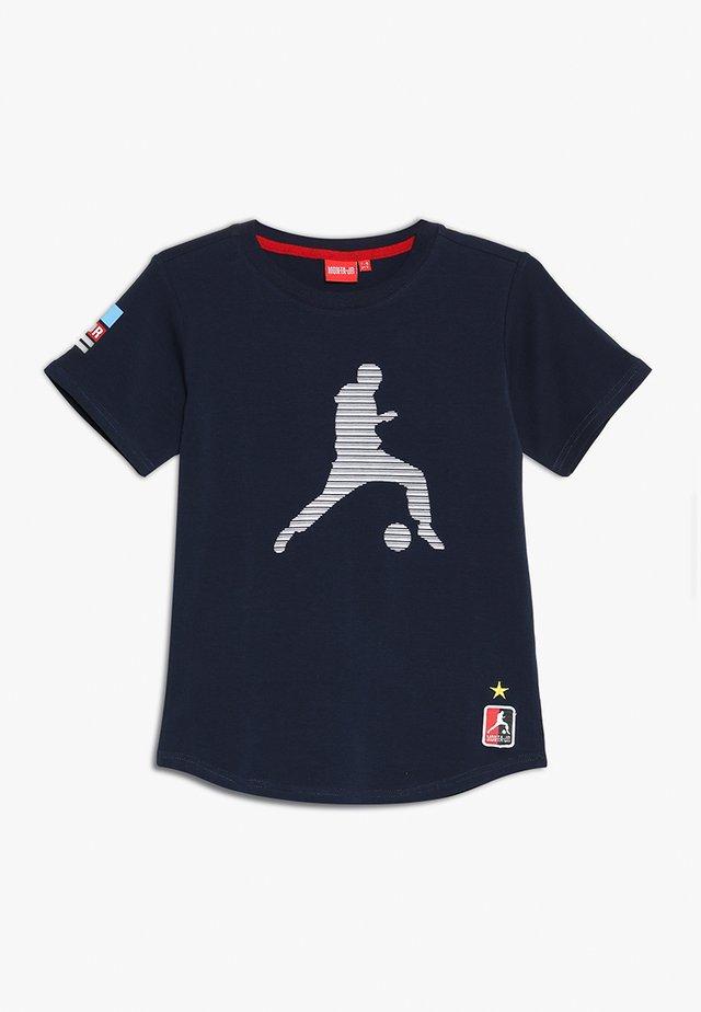 TROY - T-shirt print - navy