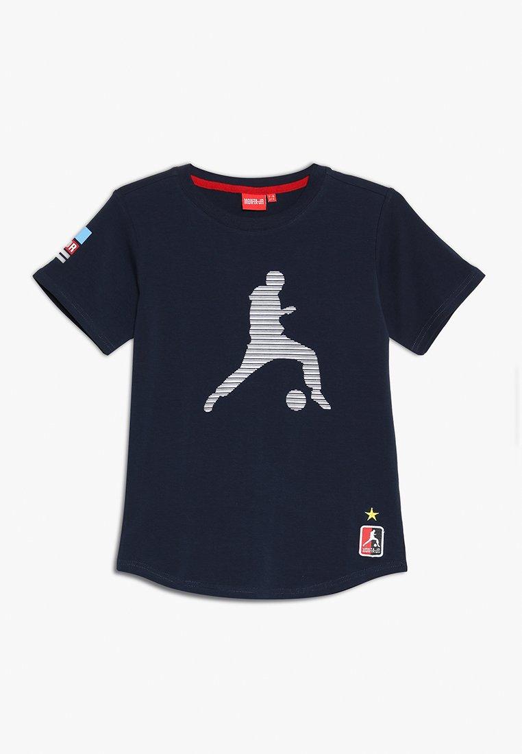 Monta Juniors - TROY - Print T-shirt - navy