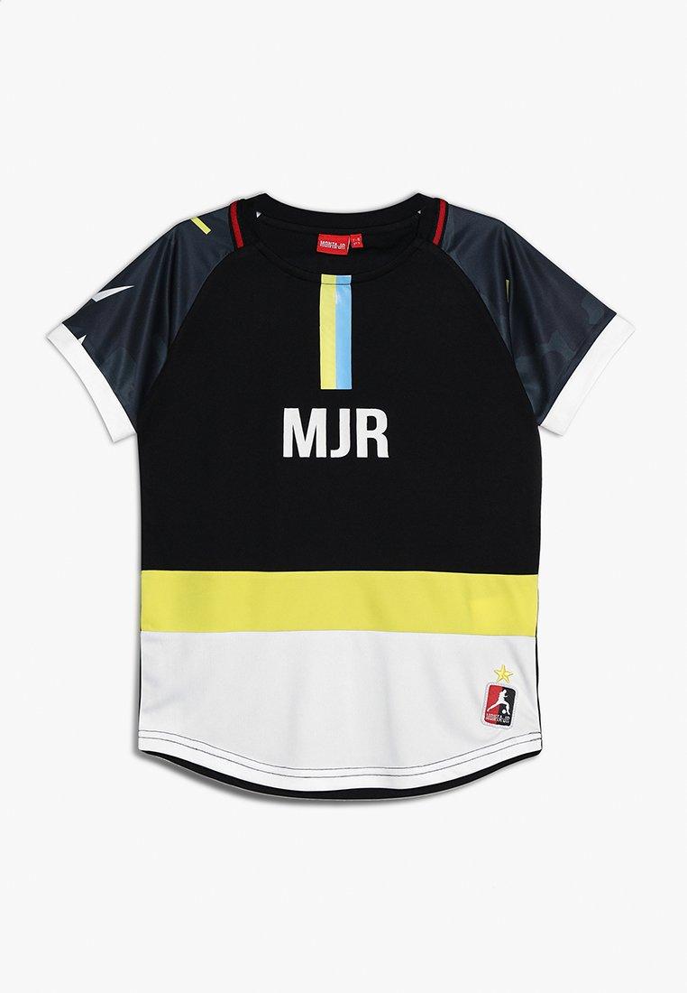 Monta Juniors - FELIPE - T-shirt z nadrukiem - black
