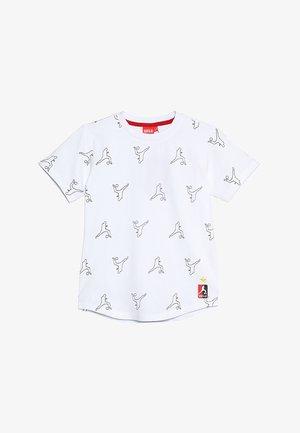 TYPHOON - T-shirts print - white/black