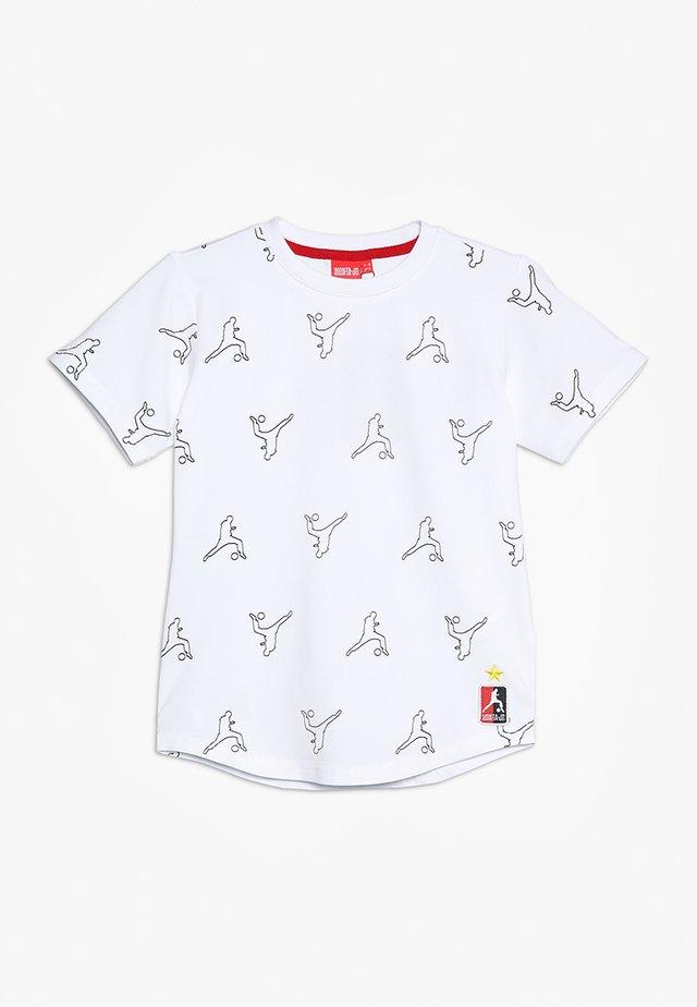 TYPHOON - T-shirt print - white/black