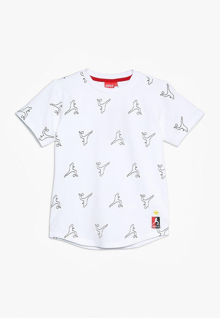 Monta Juniors - TYPHOON - T-shirts print - white/black