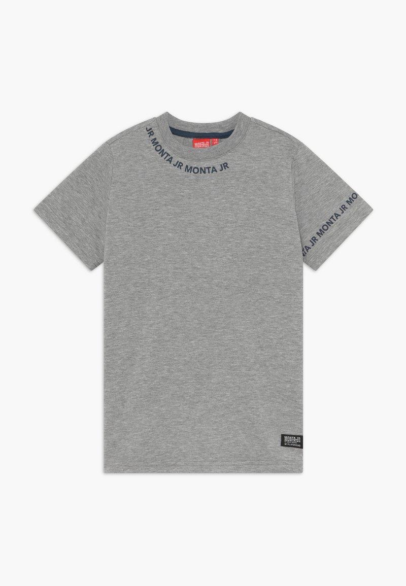 Monta Juniors - TARAZ - Print T-shirt - heather grey