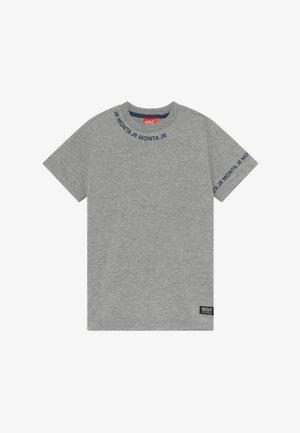 TARAZ - Print T-shirt - heather grey