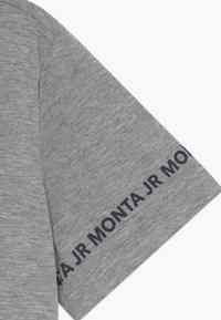 Monta Juniors - TARAZ - Print T-shirt - heather grey - 3