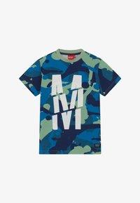 Monta Juniors - TRENTO - Print T-shirt - blue mist - 2