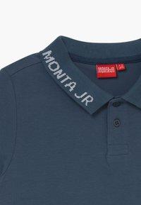 Monta Juniors - RASON - Polo shirt - steel blue - 3