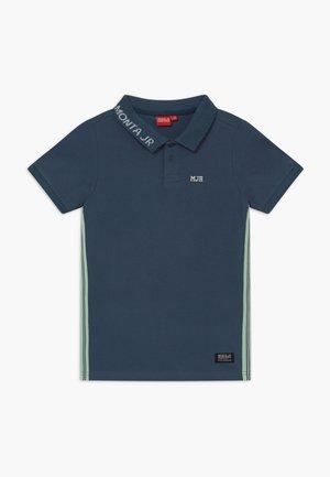 RASON - Polo - steel blue