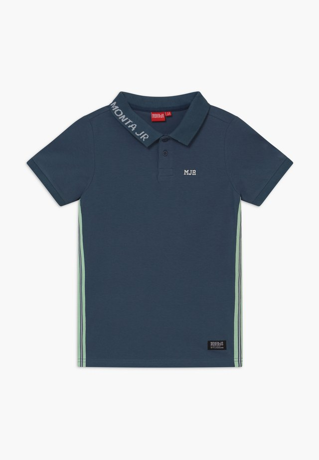 RASON - Piké - steel blue