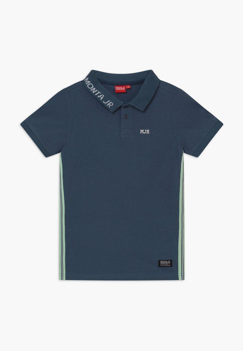 Monta Juniors - RASON - Polo shirt - steel blue