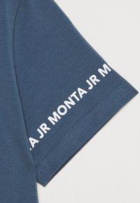 Monta Juniors - TARAZ - Triko spotiskem - steel blue - 3