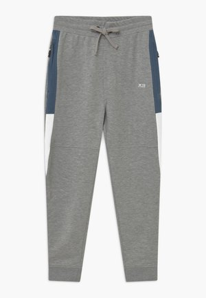 PARRAL - Tracksuit bottoms - heather grey