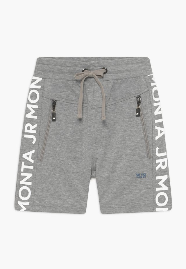 PONCE - Korte sportsbukser - heather grey